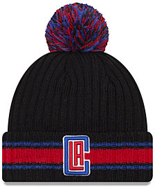 New Era Los Angeles Clippers Basic Chunky Pom Knit Hat