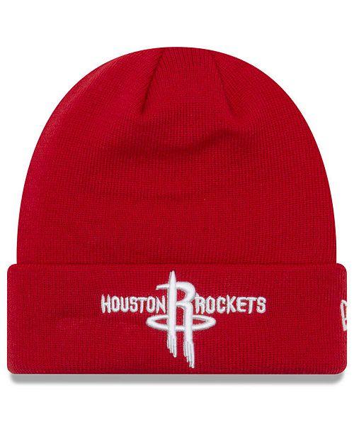 58da762639a New Era Houston Rockets Breakaway Knit Hat - Sports Fan Shop By Lids ...