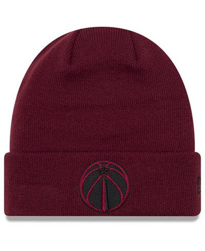 New Era Washington Wizards Fall Time Cuff Knit Hat - Sports Fan Shop ... 168db6f515a