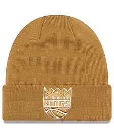 New Era Sacramento Kings Fall Time Cuff Knit Hat