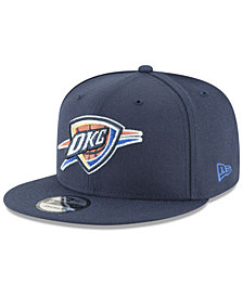 New Era Oklahoma City Thunder Team Metallic 9FIFTY Snapback Cap