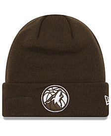 New Era Minnesota Timberwolves Fall Time Cuff Knit Hat