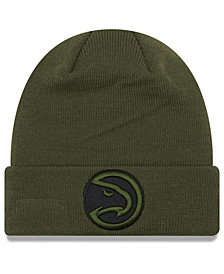New Era Atlanta Hawks Fall Time Cuff Knit Hat