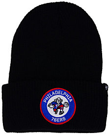 '47 Brand Philadelphia 76ers Ice Block Cuff Knit Hat
