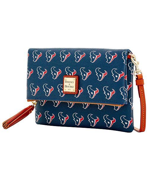 4c4a52b01583 Dooney   Bourke Houston Texans Foldover Crossbody Purse - Sports Fan Shop  By Lids - Women - Macy s