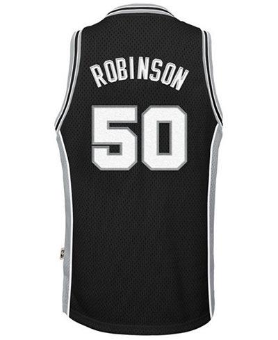adidas David Robinson San Antonio Spurs Retired Player Swingman Jersey, Big Boys (8-20)