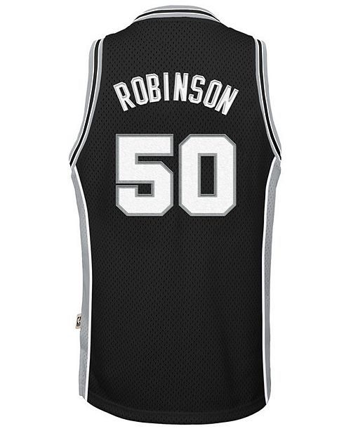 huge discount db227 14020 David Robinson San Antonio Spurs Retired Player Swingman Jersey, Big Boys  (8-20)