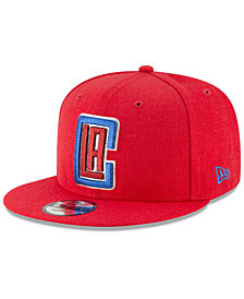 New Era Los Angeles Clippers Team Metallic 9FIFTY Snapback Cap