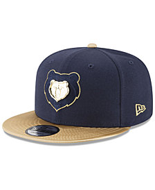 New Era Memphis Grizzlies Triple Gold 9FIFTY Snapback Cap