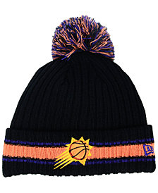 New Era Phoenix Suns Basic Chunky Pom Knit Hat