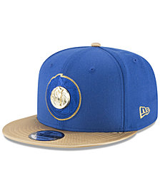 New Era Dallas Mavericks Triple Gold 9FIFTY Snapback Cap