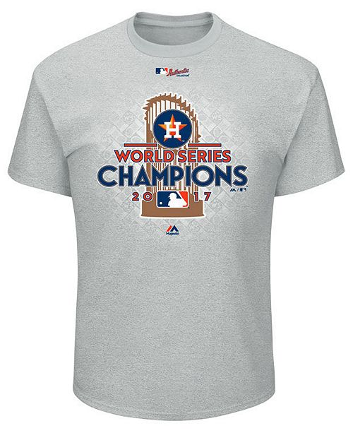 55010d73 Majestic Men's Houston Astros 2017 World Series Champ Locker Room T-Shirt