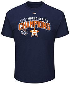 Majestic Houston Astros 2017 World Series Champ Roster of Jerseys T-Shirt, Big Boys (8-20)