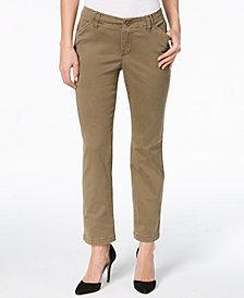 Lee Platinum Petite Straight-Leg Pants