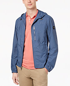 Michael Kors Men's Melange Hooded Jacket