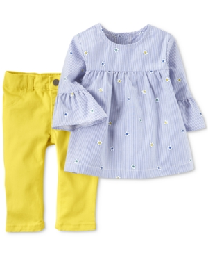 Carter's 2-Pc. Embroidered...