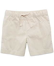 First Impressions Woven Cotton Shorts, Baby Boys, Created for Macy's