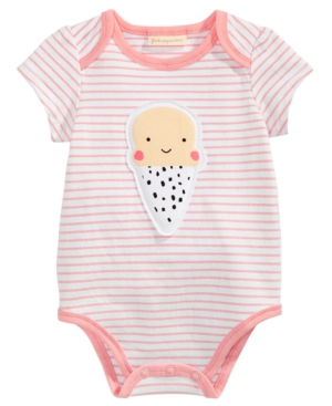 First Impressions Ice Cream Bodysuit Baby Girls Created for Macys