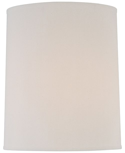"Lite Source 15"" Hardback Fine Linen Lamp Shade"
