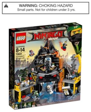 Lego Ninjago Garmadons Volcano Lair Set