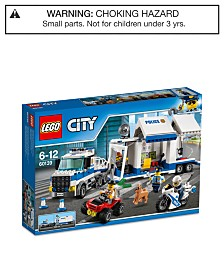 LEGO® City 374-Pc. Police Mobile Command Center 60139
