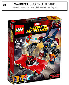 LEGO® 377-Pc. Super Heroes Iron Man: Detroit Steel Strikes Set 76077