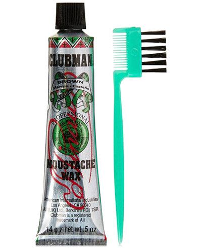Clubman Mustache Wax, 0.5-oz., from PUREBEAUTY Salon & Spa