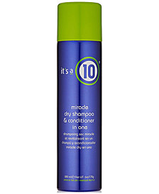 It's a 10 Miracle Dry Shampoo & Conditioner In One, 6-oz., from PUREBEAUTY Salon & Spa