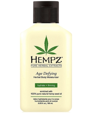 Hempz Age Defying Herbal Body Moisturizer, 2.25-oz, from Purebeauty Salon & Spa