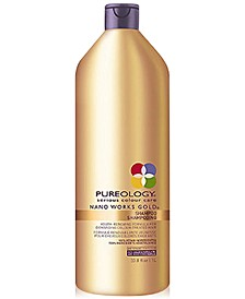 Nano Works Gold Shampoo, 33.8-oz., from PUREBEAUTY Salon & Spa