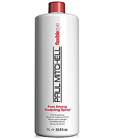 Paul Mitchell Fast Drying Sculpting Spray, 33.8-oz., from PUREBEAUTY Salon & Spa