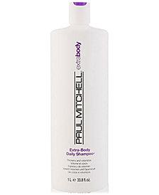 Paul Mitchell Extra-Body Daily Shampoo, 33.8-oz., from PUREBEAUTY Salon & Spa