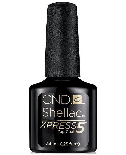 Cnd Creative Nail Design Shellac Top Coat From Purebeauty Salon