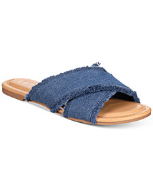 Esprit Francis Flat Slide Sandals