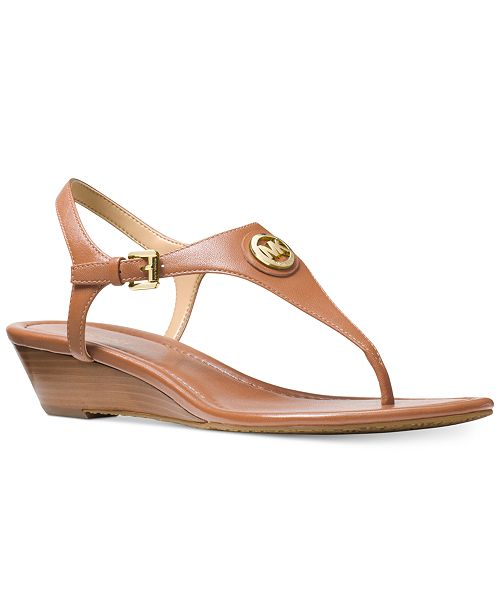 18c2fcf8d850 Michael Kors Ramona Wedge Sandals  Michael Kors Ramona Wedge Sandals ...