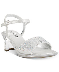 Kenneth Cole Reaction Cind-R-Ella Embellished Sandals, Little Girls & Big Girls