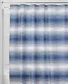 "Interdesign Enzo 72"" x 72"" Stripe Shower Curtain"