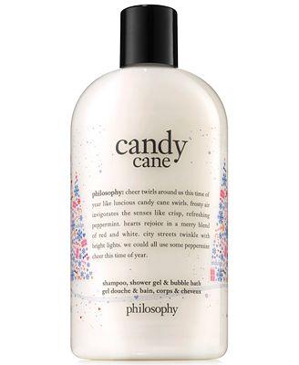 Philosophy Candy Cane Shampoo Shower Gel Bubble Bath