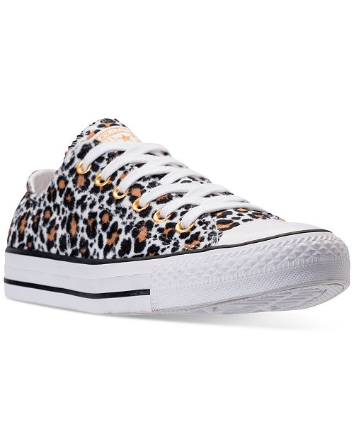 aabd6a7506e ... Converse Women s Chuck Taylor Ox Animal Casual Sneakers from Finish ...