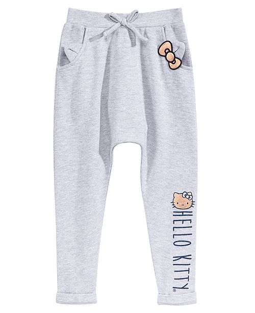2bfe3bdbf Hello Kitty Jogger Pants, Little Girls & Reviews - Leggings & Pants ...