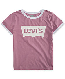 Levi's® Big Girls Retro Ringer Cotton T-Shirt