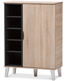 Adelina 1-Door Cabinet, Quick Ship