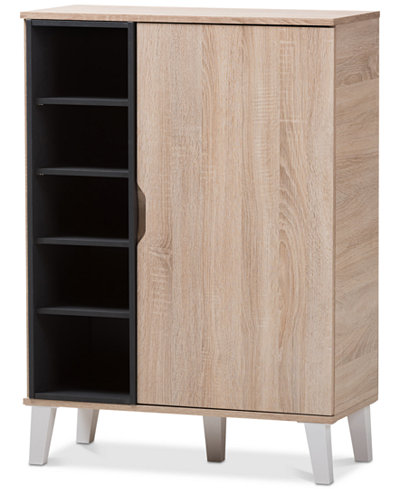 Adelina 1-Door Cabinet, Quick Ship