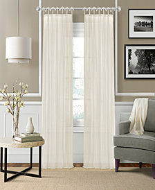 Elrene Greta Crushed Sheer Curtain Panels