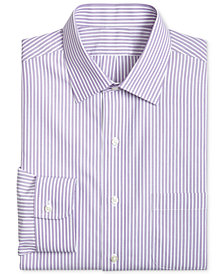 Brooks Brothers Men's Extra Slim-Fit Broadcloth Striped Dress Shirt