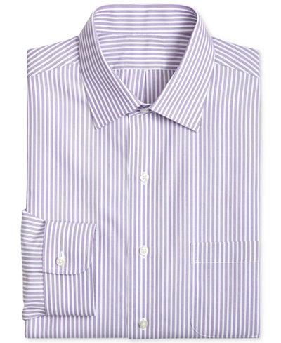 Brooks Brothers Men's Classic/Regular Fit Striped Dress Shirt