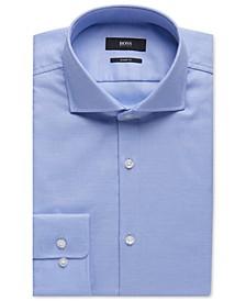 BOSS Men's Sharp-Fit Cotton Oxford Dress Shirt
