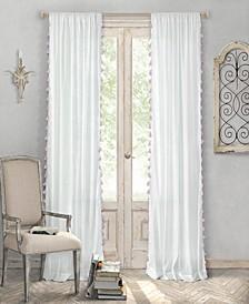 "Bianca Cotton 52"" x 84"" Window Panel"