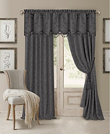 "Mia Jacquard 52"" x 95"" Blackout Curtain Panel"