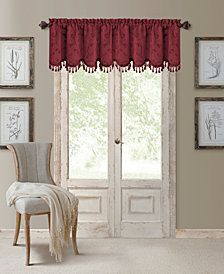 "Elrene Mia 52"" x 19"" Blackout Scalloped Valance"